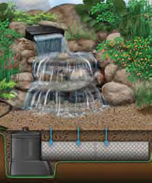 Pondless Waterfall Graphic